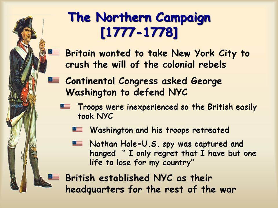 The Northern Campaign [1777-1778]